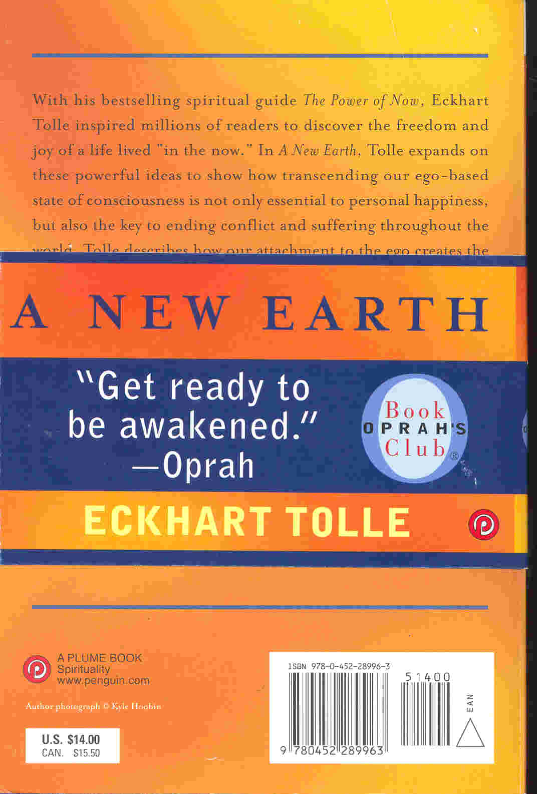 A new earth : awakening to your life 's purpose