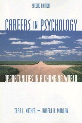 careers in psychology opprtumities in a changing world essay Psychology career resources psychology offers an unusually wide variety of career opportunities careers in psychology: opportunities in a changing world.